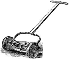 lawn mower clipart black and white. lawn mower clipart black and white free e