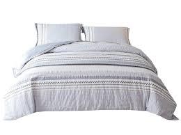 duvet cover set 100 cotton king size blue 71uzg0jt 2b5l sl1400 jpg