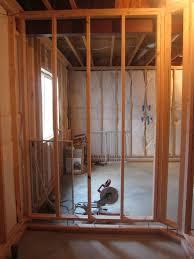 framing basement walls basement bathroom