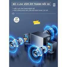 Loa vi tính bluetooth để bàn cho máy tính laptop pc MC S511 SUPER BASS có  dải led, âm thanh vòm 3D, thiết kế siêu đẹp - Loa Vi Tính