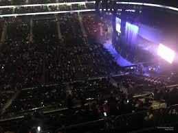 Prudential Center Section 212 Concert Seating
