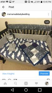 bass fishing in navy and gray boys nursery crib bedding