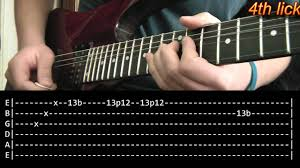 another brick in the wall guitar solo lesson pink floyd with tabs