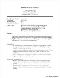 Security Guard Resume Resume Template Stupendousity Guard Example Armed Examples Of Jobs 12