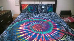 blue bed sheets tumblr. Tie Dye Wall Mural Bedroom Wallpaper Tumblr Watercolor Acid Wash Bedding How To Paint On Canvas Blue Bed Sheets S