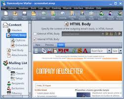 HTML Email - Gammadyne Mailer