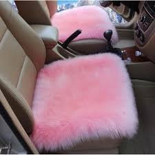 blue fuzzy car seat covers furry cover