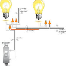 how to wire light switch from outlet wiring diagram examples Wire Light Switch From Outlet Diagram how to wire light switch from outlet, wiring two lights to one switch diagram, Light Switch Wiring Diagram