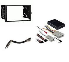 stereo radio double din dash kit onstar wiring harness image is loading stereo radio double din dash kit onstar