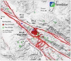 moderate but intense quake ...
