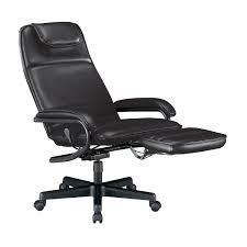 comfortable computer chairs. Funiture, Computer Chairs Ideas With Black Leather Swivel Recliner Chair Armrest And High Backrest Comfortable C