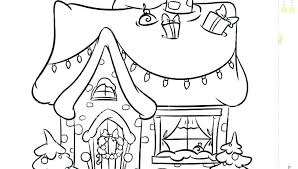 House Coloring Sheets 850600 Gingerbread House Coloring Sheet House