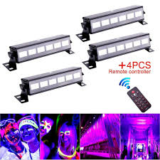 Black Light Wash Details About 4pc 18w Uv Light Wall Wash Black Light Stage Light Party Halloween Haunted House