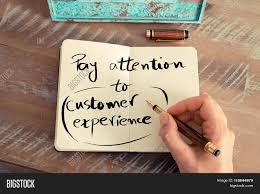 written text pay attention customer image photo bigstock written text pay attention to customer experience