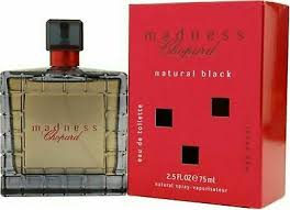 Rare <b>Madness natural</b> black <b>Chopard</b> 75ml Eau de Toilette For Men ...