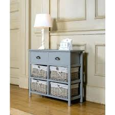 storage furniture with baskets vintage console table hallway wooden cabinet drawers freedom hallway storage cabinet l51