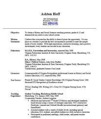 Sample Resume For Teachers Without Experiencenokiaaplicaciones Com