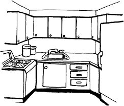 Small Picture Simple Kitchen Coloring Pages Download Print Online Coloring