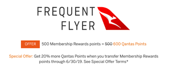Qantas Is Now An Amex Transfer Partner Theres A 20
