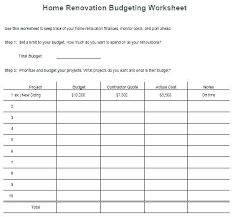 Bathroom Budget Planner