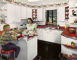 Retro Kitchen Vintage Retro Kitchen Countertops Miserv