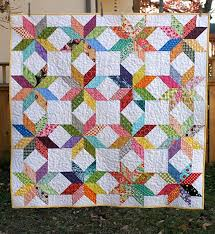 Star Flower Quilt Free Tutorial | Patchwork | Pinterest | Flower ... & Star Flower Quilt Free Tutorial Adamdwight.com