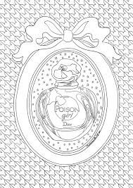 Coloriage Dior Poison Girl Free Download Dior Girls And