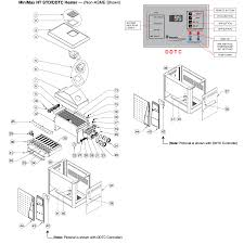 Pentair minimax nt std heater with keypad ddtc controller parts schematic