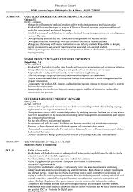Experience Product Manager Resume Samples Velvet Jobs