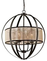 diffusion 4 light orb chandelier