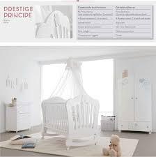 top baby furniture brands. Glittery Classic White Baby Cot Prestige Principe By Pali Top Furniture Brands