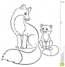 Small Picture Beautiful Inspiration Baby Fox Coloring Pages Pages Pages Baby Fox