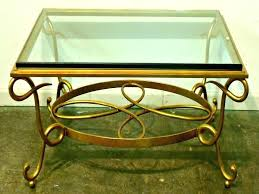 gold bamboo glass coffee table gold bamboo coffee table faux bamboo coffee table glasetal