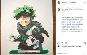 Share your latest finds or your very own anime artwork. Anime Artist On Instagram Forums Myanimelist Net