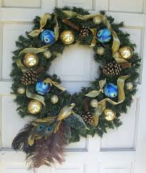 Drop Dead Gorgeous Image Of Home Interior Wall Decoration Using Various  Cool Wreath : Fascinating Picture