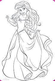 Walt Disney Coloring Pages Princess Ariel Kleurplaat Walt Disney