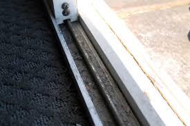 how to make your sliding patio door open easier