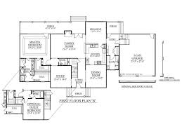 Superb House Plans With Downstairs Master Bedroom Blueprint Entrancing On Main  Floor
