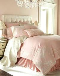 pale pink bedding cottage pale pink bedding white tufted headboard chandelier very shabby chic pale pink