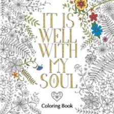 it is well with my soul coloring book coloring faith
