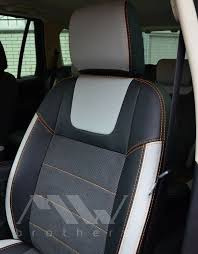 details about seat covers set for land rover freelander 2 premium alcantara leather interior