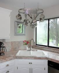 pan rack holder stainless steel kitchen ceiling