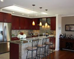 cute low ceiling kitchen lighting ideas