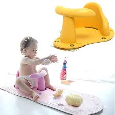 full image for baby bathtub ring 4 colors baby child toddler kids anti slip safety chair