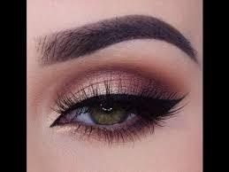 rose gold smokey eye makeup tutorial morphe brushes palette