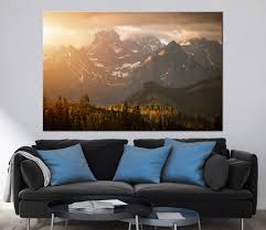 mountains sunset scenery photoprint multi panel canvas print wild for most current extra large wall art on extra large multi panel wall art with showing photos of extra large wall art prints view 7 of 15 photos