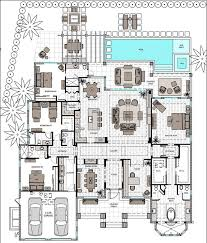 picturesque one story house plans with 2 master suites 836 best floor images on