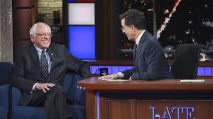 Stephen Colbert Grills Bernie Sanders: Isn't This 'Class Warfare?'