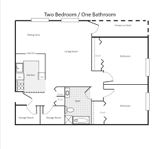 One Bedroom Apartment Layout Apartment D Floor Plan Bed Room Gucobacom