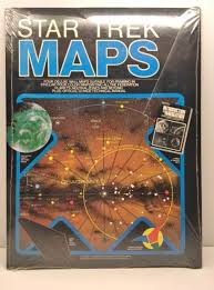 Star Trek Star Charts Book Star Trek Maps The Navigational Charts Of